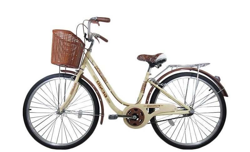 Sepeda Keranjang Berdesain Cantik